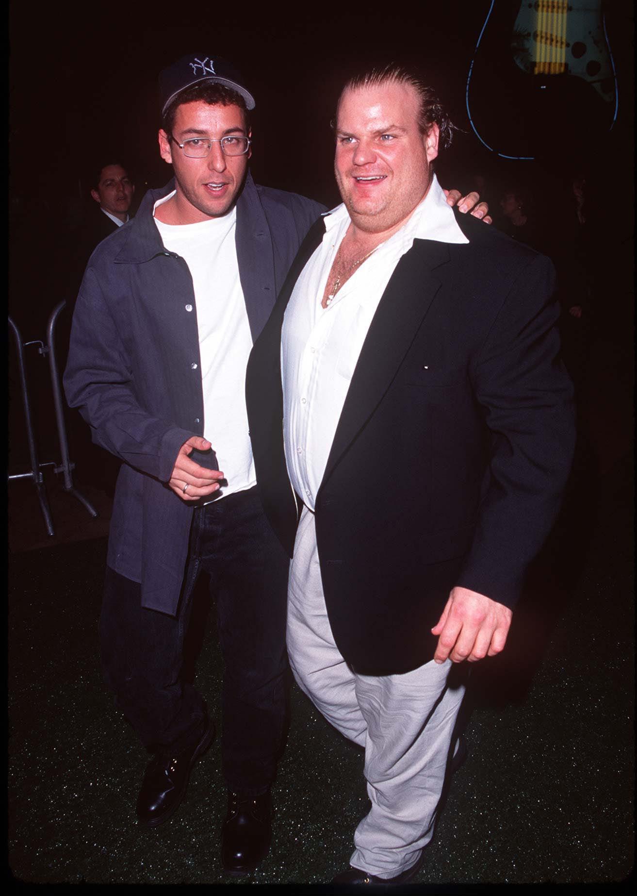Adam Sandler & Chris Farley during