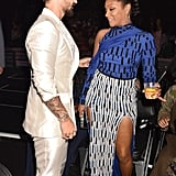 Maluma and Tiffany Haddish