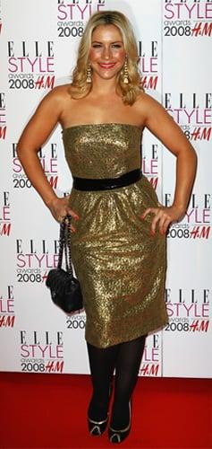 Celebrity Style: Heidi Range at Elle Style Awards