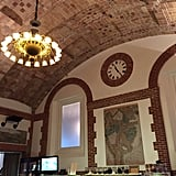 You'll also want to grab a bite to eat at the Map Room Café in the Boston Public Library — such a cool spot.