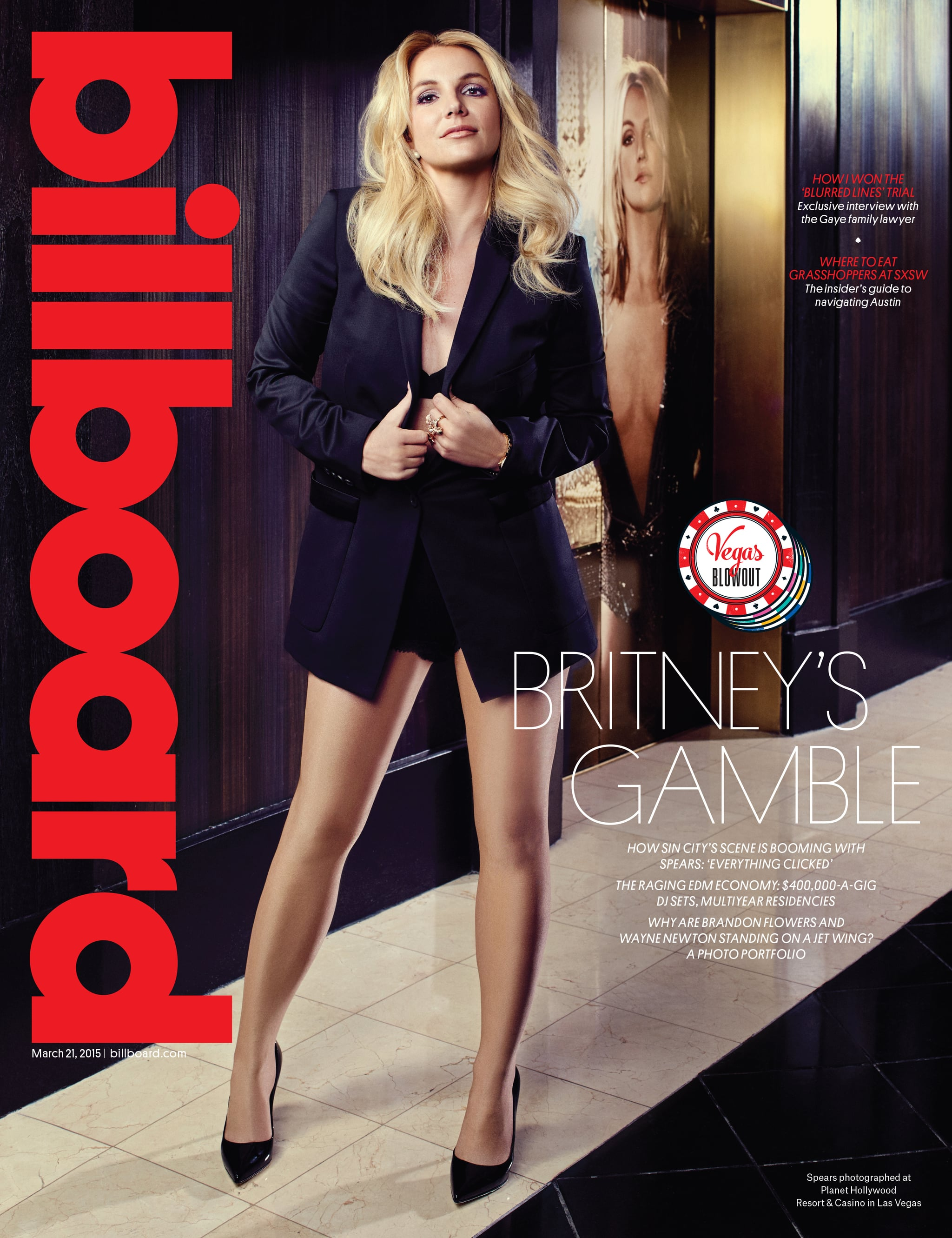 Бритни Спирс в Billboard Magazine