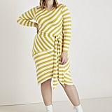 ELOQUII Blocked Stripe Dress