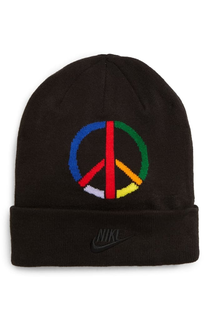 Nike x Olivia Kim Peace Sign Cuffed Beanie