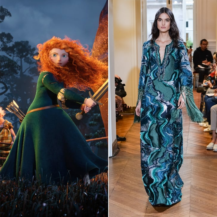 Merida in Alberta Ferretti Haute Couture