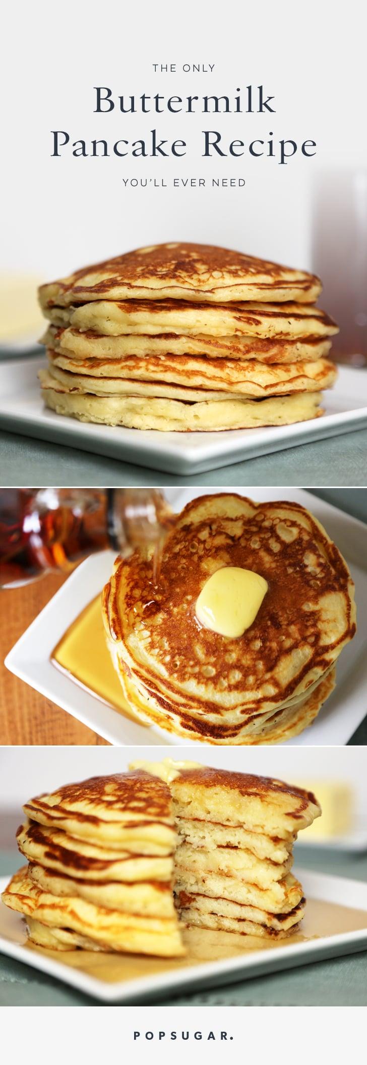 Buttermilk pancake recipe popsugar food ccuart Image collections