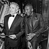 Pictured: Warren Beatty and Mahershala Ali