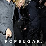 Kate Moss and Jaime Hince went out on the town in London.