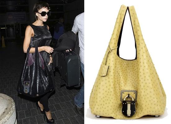 Victoria Beckham's Padlock Handbag by Loewe