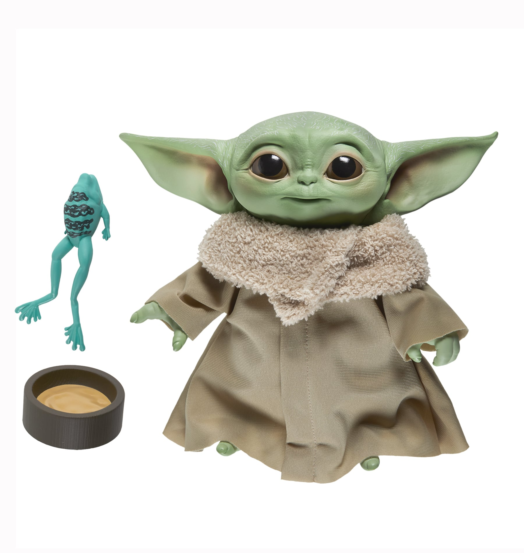 Hasbro Is Releasing a Baby Yoda Talking Plush in 2020, and the Force Is Adorable With This One