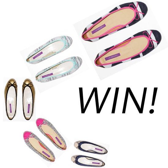 Win A Pair FREE of Designer H Brand Ballet Flats a Day on FabSugar Australia