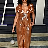 Taraji P. Henson at the 2019 Vanity Fair Oscars Party