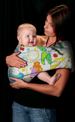 Mamma's Milk Graffiti Invisibly Adjustable Baby Sling ($55)