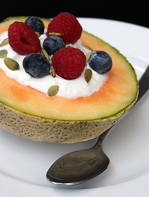 Keto Yogurt Filled Cantaloupe 250 Easy And Delicious Recipes To Fit Any Healthy Lifestyle Popsugar Fitness Photo 40 The cantaloupe, rockmelon (australia and new zealand), sweet melon, or spanspek (south africa) is a melon that is a variety of the muskmelon species (cucumis melo) from the family cucurbitaceae. popsugar