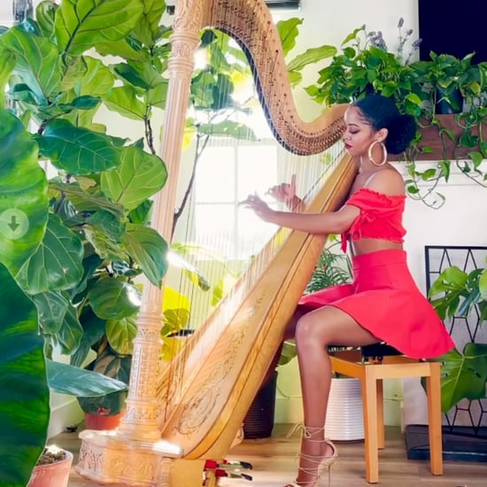 Madison Calley Harp Covers | Instagram Videos