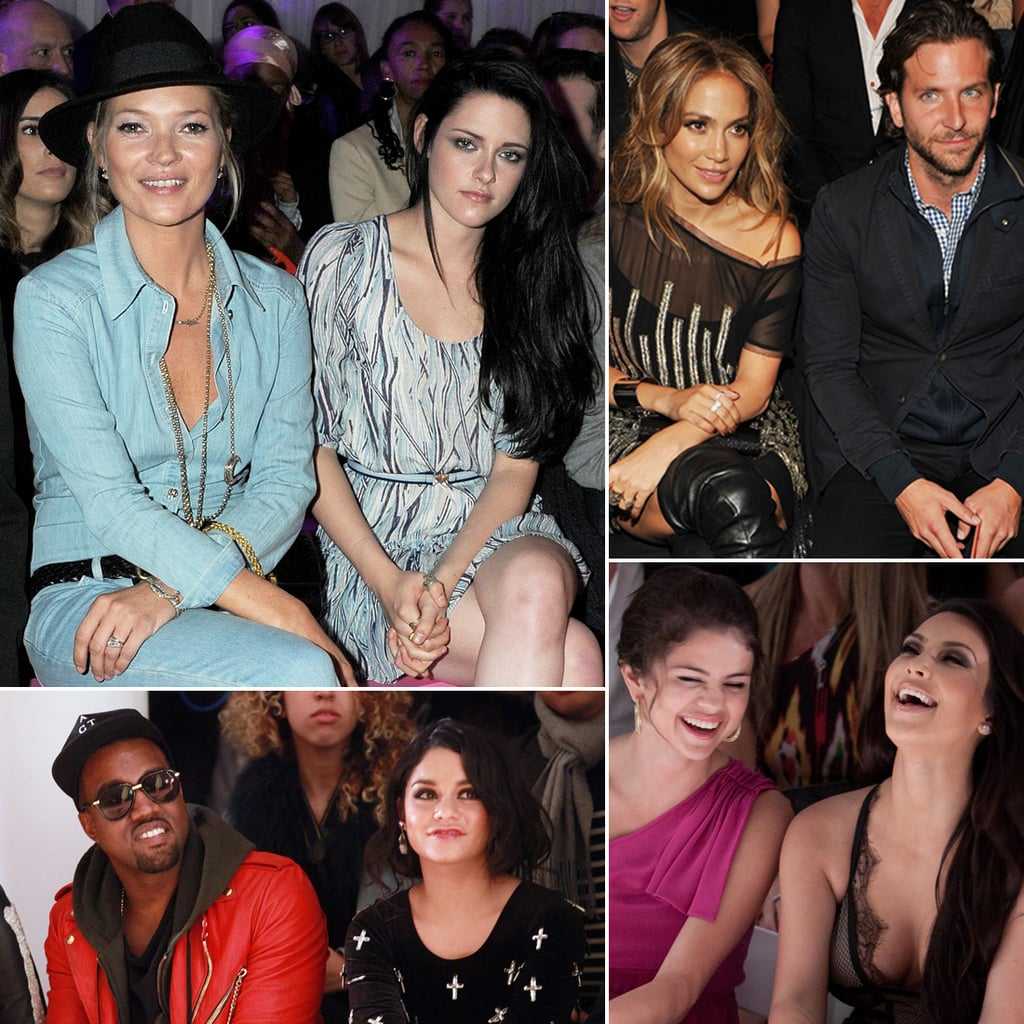 Celebrities Sitting Front Row at Fashion Week