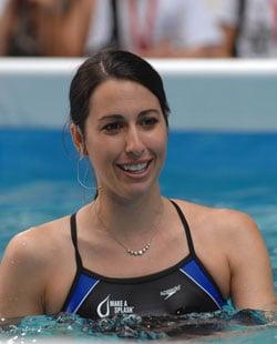 Janet Evans Swam Through Pregnancy