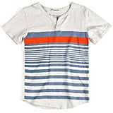 Short-Sleeved Henley