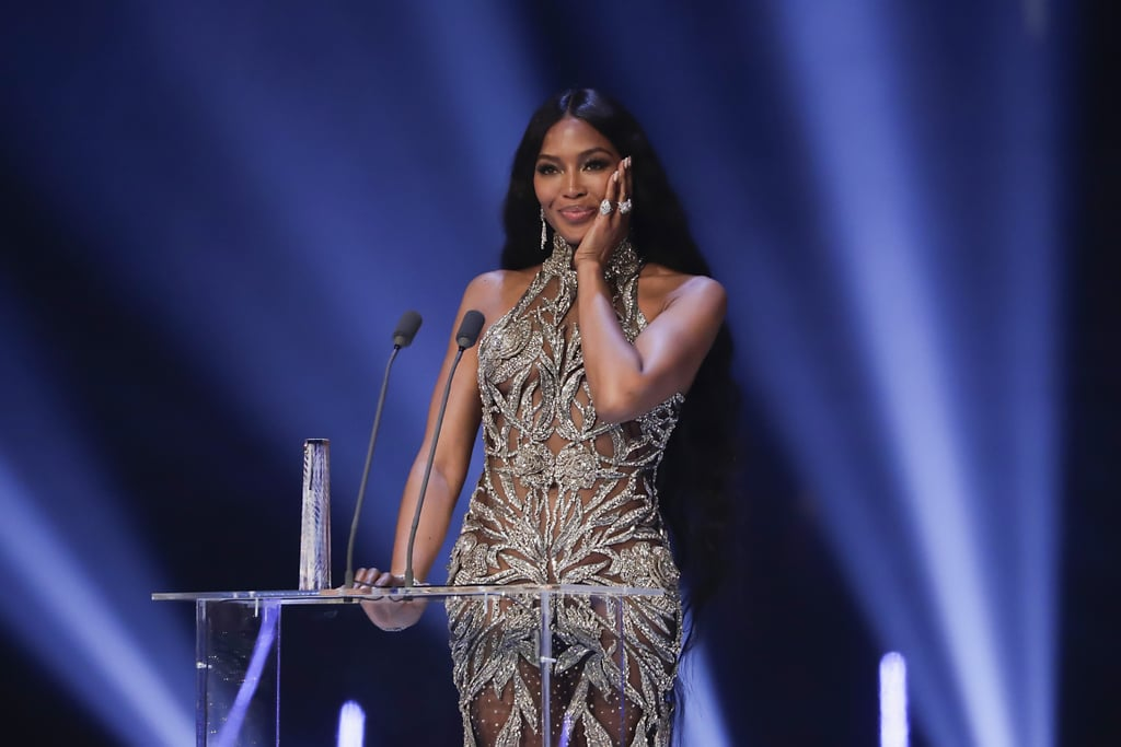 Naomi Campbell Accepting the Fashion Icon Award at the British Fashion Awards 2019 in London