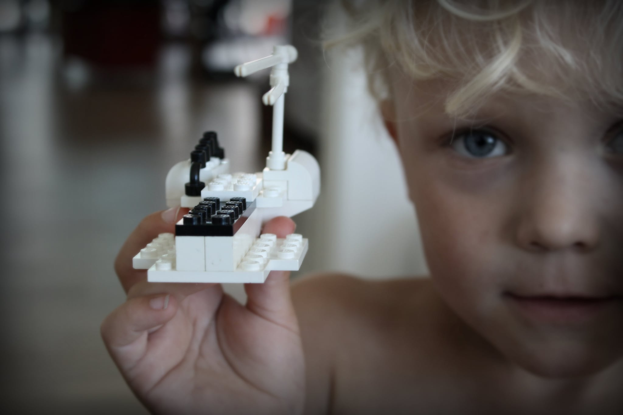 Build and Break Lego Creations
