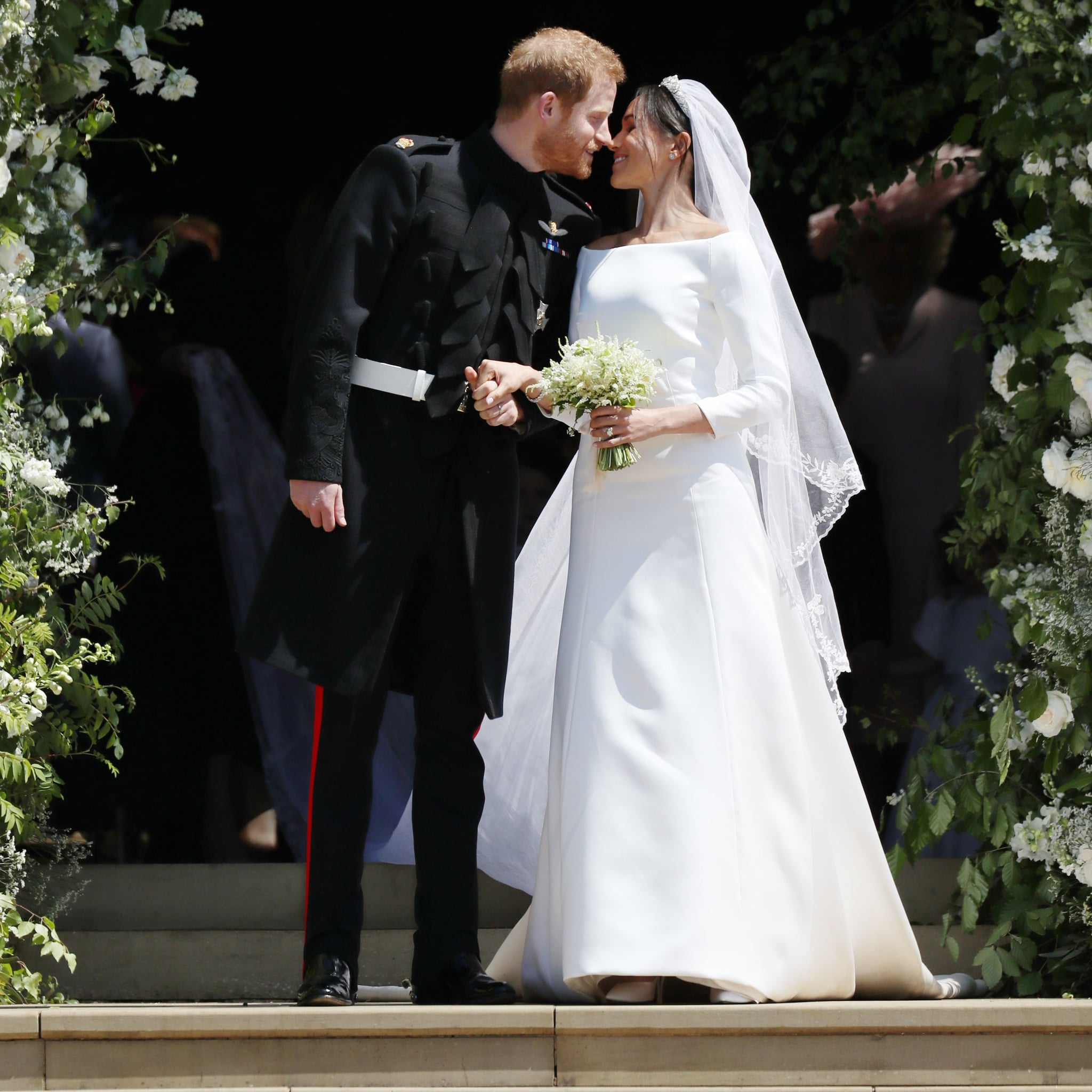 Meghan Markle and Kate Middleton Wedding Dresses Pictures | POPSUGAR ...