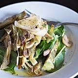 Warmed Artichoke and Mushroom Salad