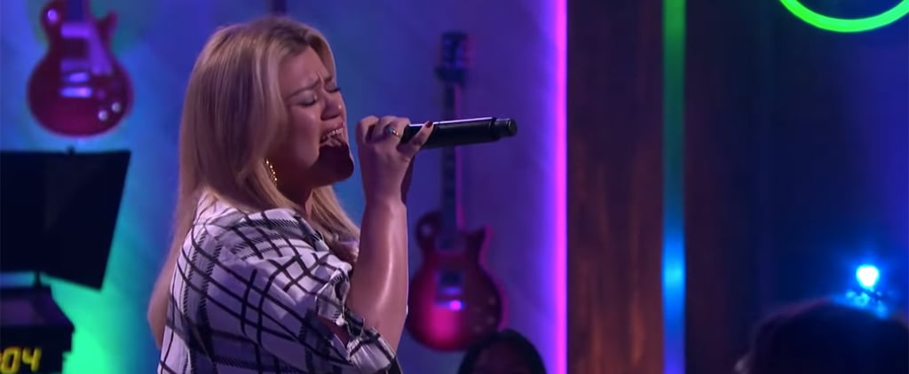 "Watch Kelly Clarkson Cover The Weeknd's ""Can't Feel My Face"""