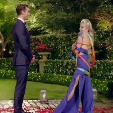 Akoulina Twirling Ribbons on The Bachelor 2017