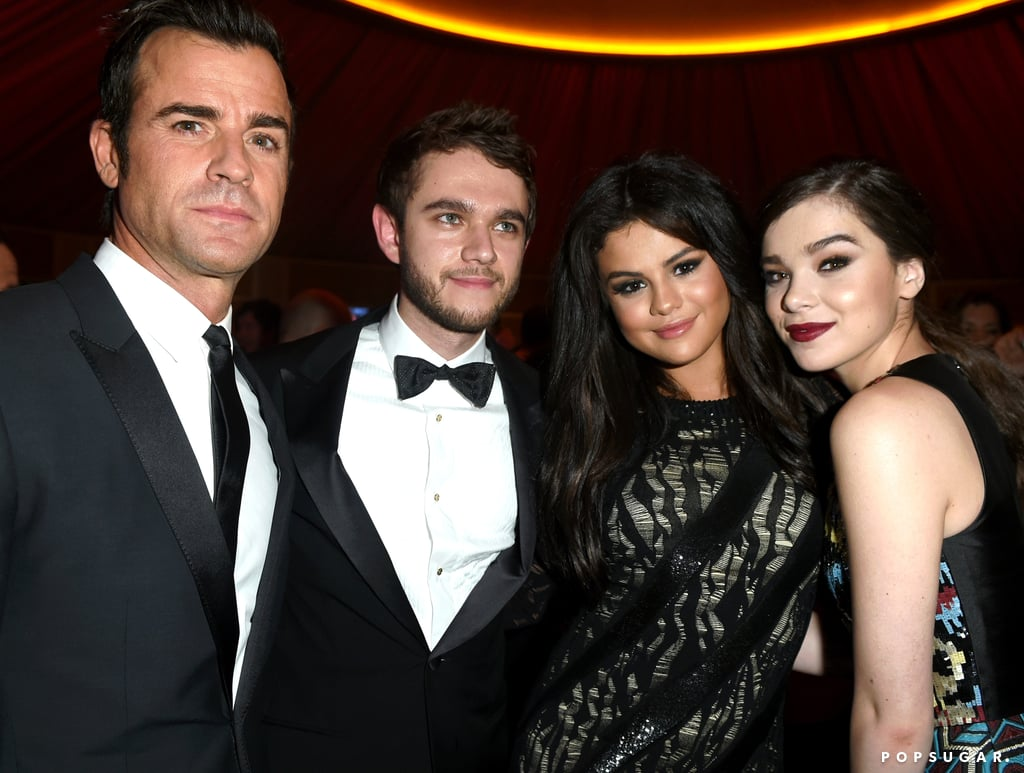 """Rumoured couple Selena Gomez and DJ Zedd linked up after the Oscars on Sunday, posing for pictures together at Vanity Fair's afterparty. DJ Zedd attended the show with Jared Leto, making a funny face in a photo Jared posted on their way to the Oscars before they hit the red carpet together. Although Selena walked the red carpet solo ahead of the party, she and DJ Zedd hung out with Hailee Steinfeld and Justin Theroux inside, and Selena was also spotted giving her pal Jennifer Aniston a big hug. Their big night out came just before their collaboration, """"I Want You to Know,"""" was released. Keep reading for more pictures of Selena and DJ Zedd, and then check out all the stars at Vanity Fair's bash!"""
