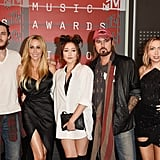 Billy Ray Cyrus, Tish Cyrus, Noah Cyrus, Brandi Cyrus, and Braison Cyrus