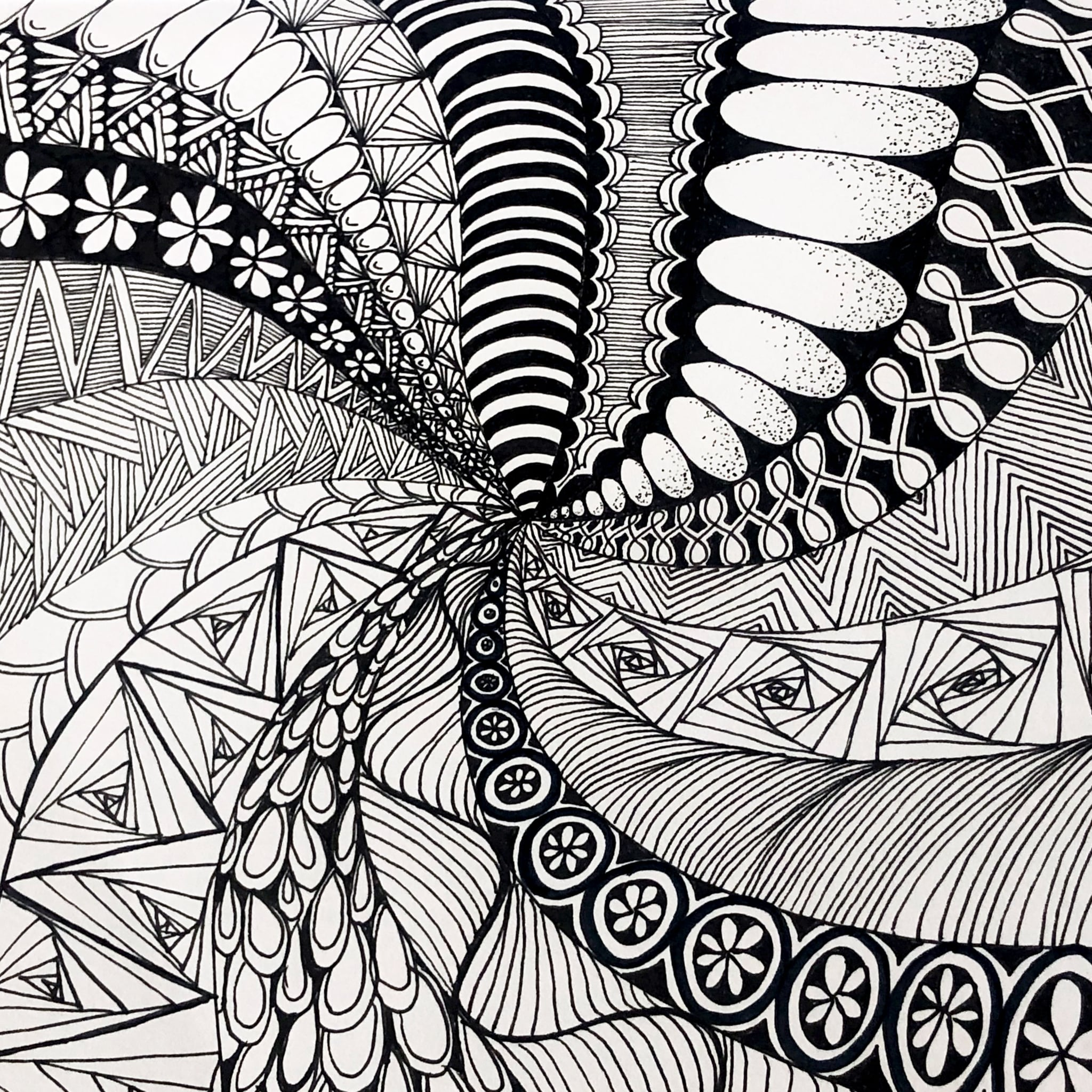 What Is Zentangle Drawing Meditation?   POPSUGAR Fitness