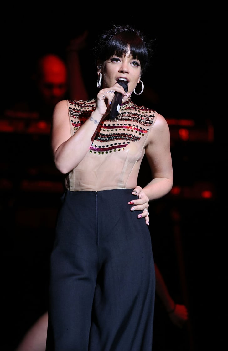 Lily Allen in a See-Th...