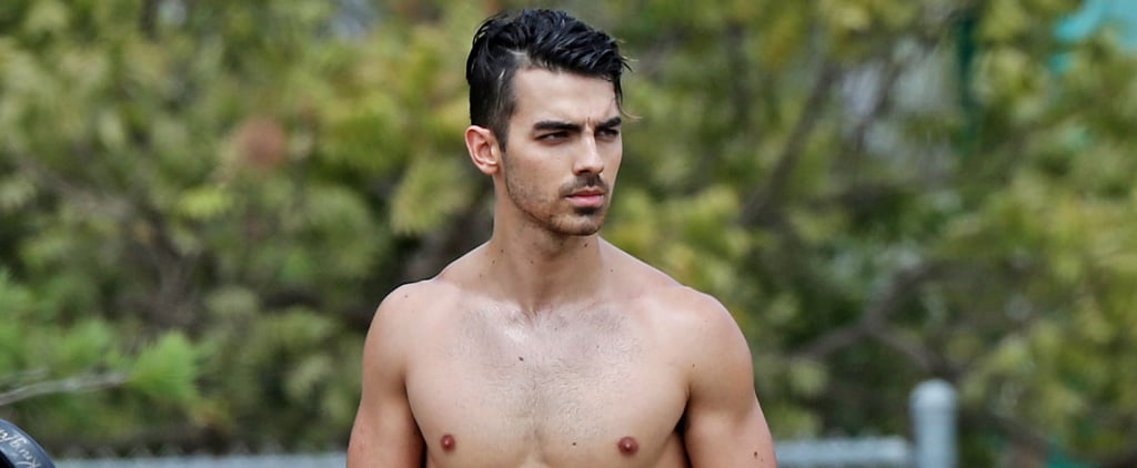 Joe Jonas Knocks It Out of the Park With His Shirtless Outing in LA