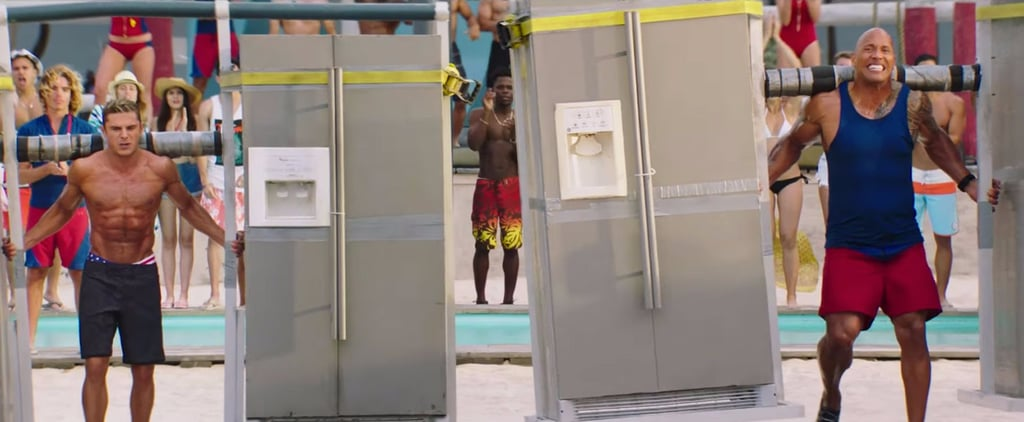 Zac Efron and The Rock's Bromance Gets Put to the Test in the New Baywatch Trailer