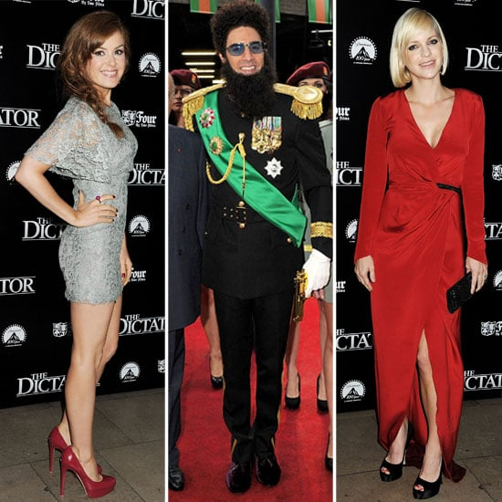 Sacha Baron Cohen The Dictator London Premiere Pictures