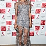 Diane Kruger in Erdem at the Sidaction Gala in 2012
