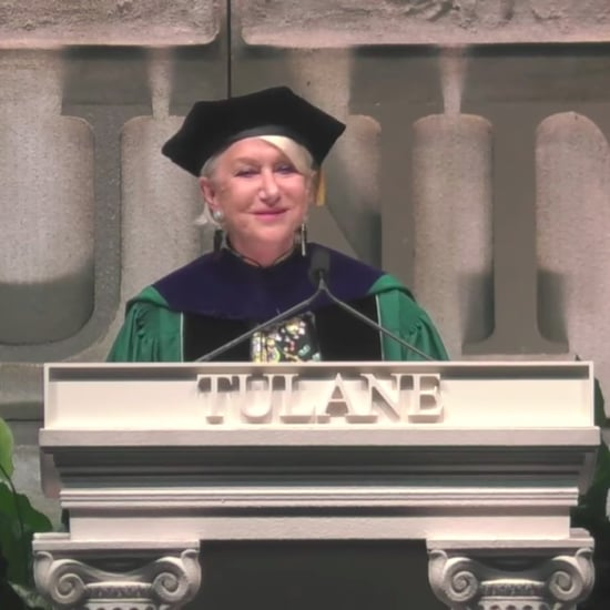 Helen Mirren's Commencement Speech at Tulane University