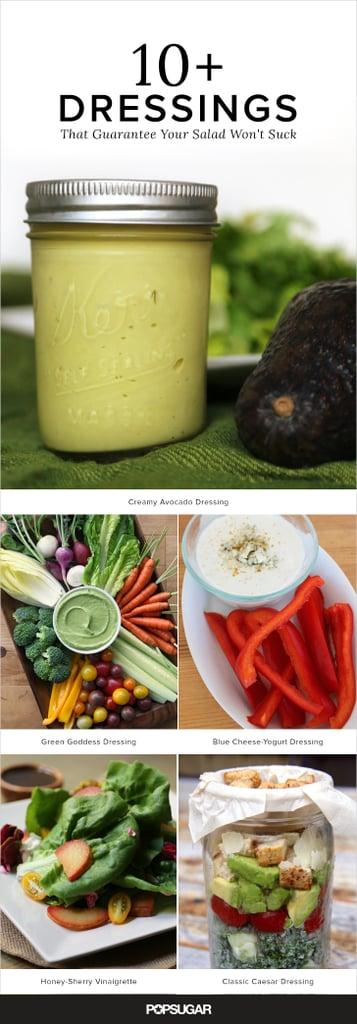 Easy Salad Dressing Recipes