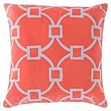 "Surya Henrietta Geometric Pillow 20"" x 20"" ($54, originally $60)"
