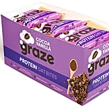 Graze Cocoa Vanilla & Oats Vegan Protein Bites