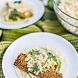 Gluten-Free Baja Fish Tacos With Avocado Crema and Chipotle Slaw