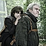 Bran and Hodor From Game of Thrones