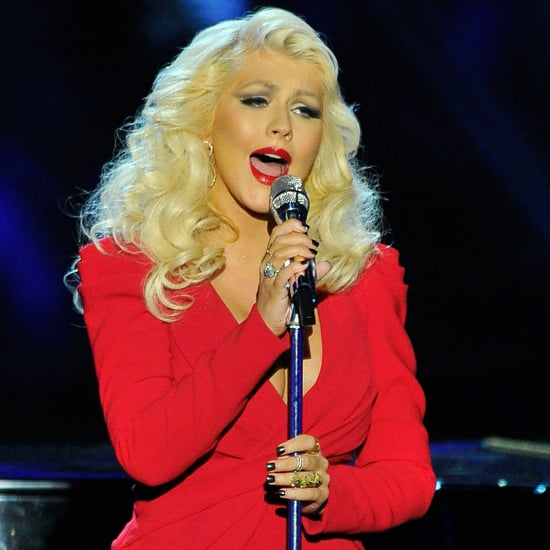 Christina Aguilera After Giving Birth 2014 | Photos