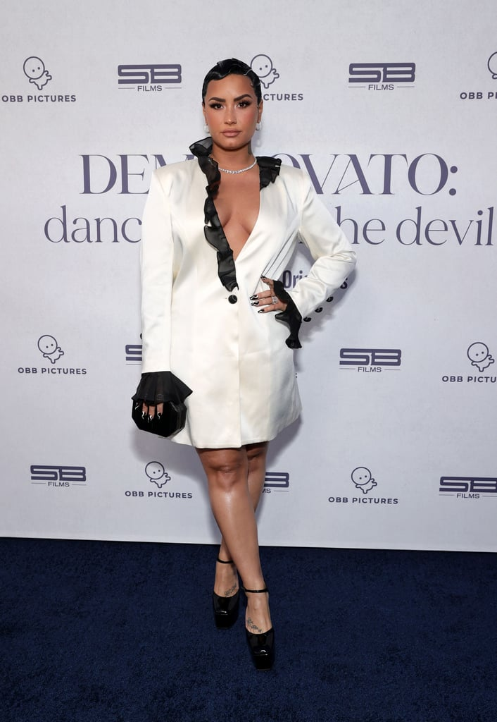 Demi Lovato's Blazer Dress   Dancing With the Devil Premiere