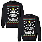 Best Christmas With My Hot Boyfriend/Girlfriend Sweaters