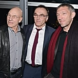Danny Boyle and Vincent Cassel chatted with Patrick Stewart.