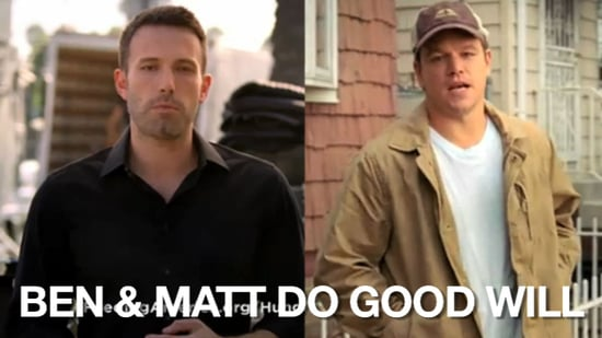 Ben Affleck and Matt Damon Star in Public Service Announcements For Feeding America