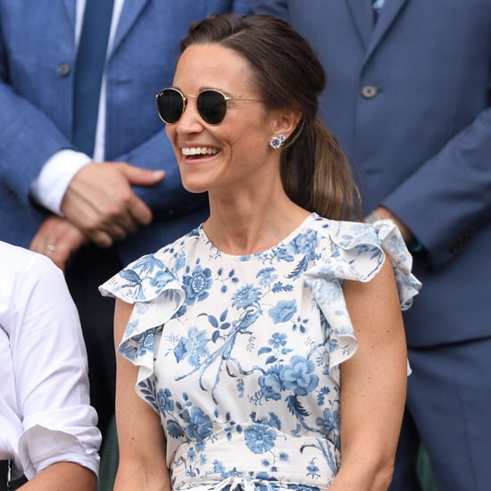 Pippa Middleton Ruffle Sleeve Dress Cheap 2019