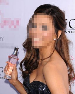 Guess Who's Showing Off Her New Celebrity Fragrance?