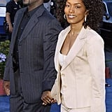 The couple walked hand in hand at Paramount Studios' 90th anniversary party in July 2002.