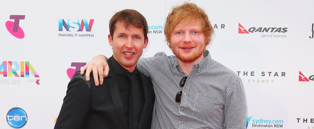 James Blunt Quotes About Ed Sheeran's Face Getting Cut